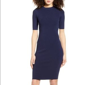 Theory Silk Body Con Dress